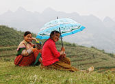 Ethnic Hmong children in Sapa, Vietnam — Stock Photo