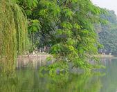 Hoan Kiem lake, Hanoi — Stock Photo