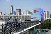 Siam Paragon mall in the Siam Square area in Bangkok — Stock Photo