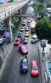バンコクの通りの交通 — ストック写真