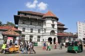 View of Kandy street — Stok fotoğraf