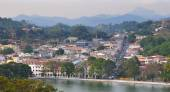 View on Kandy City, Sri Lanka — Stock Photo