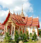 Wat Chalong temple in Phuket — Foto Stock