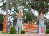 Khmer temple in Mekong Delta, Vietnam — Stock Photo