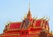 Khmer temple in Mekong Delta, Vietnam — Stock Photo