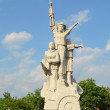 Statue and monument of Vietnamese soldier — Stock Photo #72106979