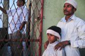 Many people at Sri Pada in Sri Lanka — Stock Photo