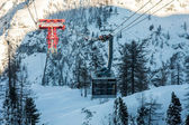 Winter ski station — Stock Photo