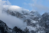 Alpi d'inverno — Foto Stock