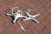 Damaged drone — Stock Photo