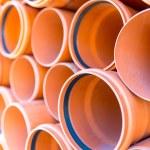 Sewage pipes — Stock Photo #78091758