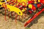 Seedbed machinery — Stock Photo