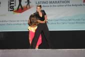 Maraton latino — Zdjęcie stockowe