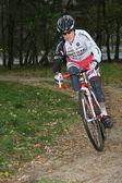Course cycliste — Photo