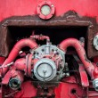 Old vintage fire engine detail — Stock Photo #64526041