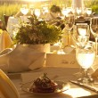 Outdoor table setting — Stock Photo #62903415