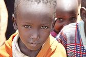 Poor Maasai boy — Stock Photo