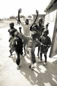 Kids playing in South Sudan — Stock Photo