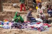 Street seller, Ethiopia — Stock Photo