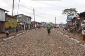 Poverty in Kibera — Stock Photo