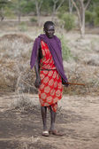 Maasai warrior — Stock Photo