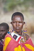 Maasai woman — Stock Photo