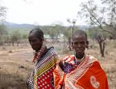 Maasai women, southern Kenya — Stock Photo