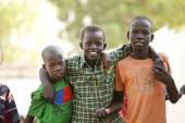 Boys in South Sudan — Stock Photo