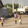 Kids carrying water, South Sudan — Stock Photo #63320141