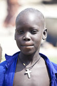 South Sudanese Christian boy — Stock Photo