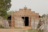 Church in South Sudan — Stock Photo