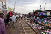 Market, Kibera Kenya — Stock Photo