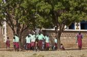 Students in South Sudan — Stock Photo