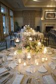 Elegant table setting — Stock Photo