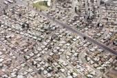 Aerial view of Phoenix, Arizona — Stock Photo
