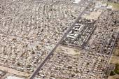Aerial residential phoenix, arizona — Stock Photo