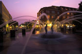 Fountain in downtown charleston, South Carolina — Foto Stock