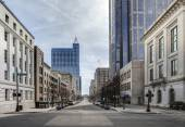 View of downtown raleigh, north carolina — Stock Photo