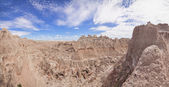 Panorama of badlands national park — Stock Photo