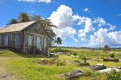 Traditional church in caribbean — Stock Photo