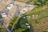 New development on golf course — Stock Photo