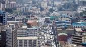 Aerial of Nairobi, Kenya — Stock Photo