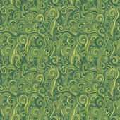 Green seamless pattern. Background with grass. — Stock Vector