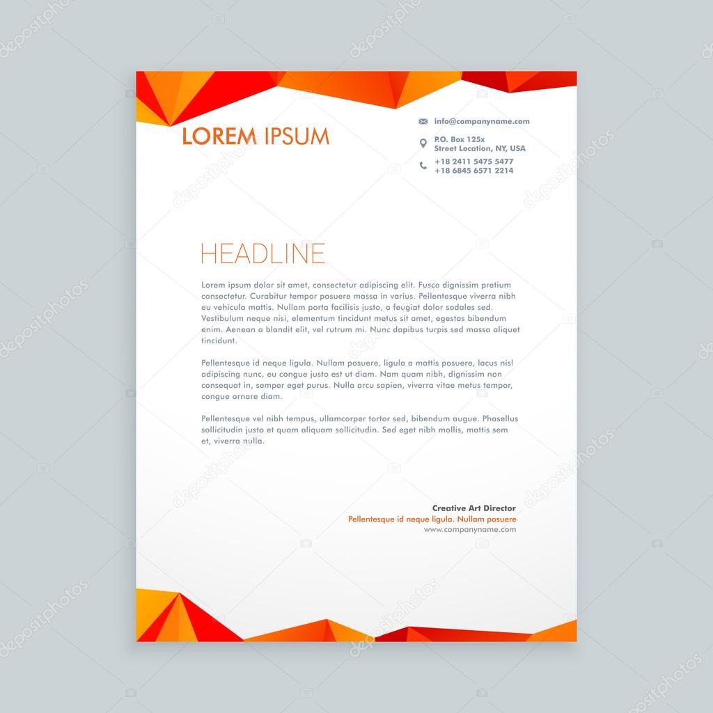 бланк дизайн письма