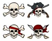 Cartoon pirate bandana