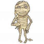 Halloween Character - Mummy. — Stok Vektör