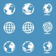 Globe Icons — Stock Vector #58278113