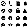 Set of Info Icons — Stock Vector #58567111