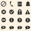 Set of Info Icons — Stock Vector #58567207