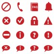 Set of Info Icons — Stock Vector #58567367